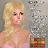 !SOUL - HAIR Mesh - Hyacinth - 12 Nuances -  Ginger Set 1