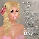 !SOUL - HAIR Mesh - Hyacinth - BUY ALL - 6 Sets- 72 Nuances