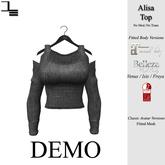 DE Designs - Alisa Top - DEMOS