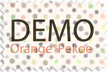Orange*Pekoe - Mix&Match sweater around waist (DEMO)