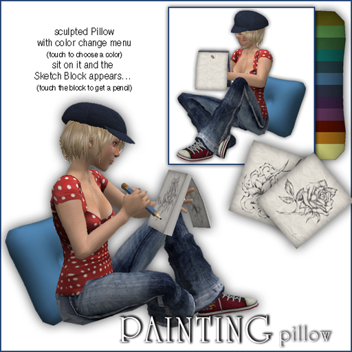 Sway's Painting Pillow