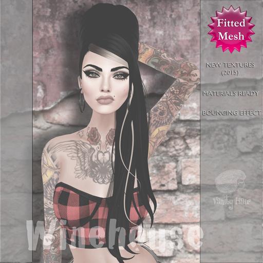 Vanity Hair::Winehouse-Demo Pack