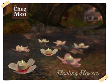 Floating Flower Colors ♥ CHEZ MOI