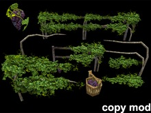 Grape Vine Pack - Mesh - Copy Mod