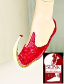 khusa shoes red