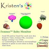 Kristen's @ - Fennux Baby Monitor