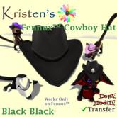 Kristen's @ - Fennux Cowboy Hat - Black Black