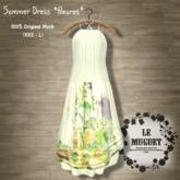 Summer Dress *fleuret* green