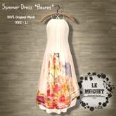 Summer Dress *fleuret* pink