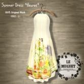 Summer Dress *fleuret* yelow