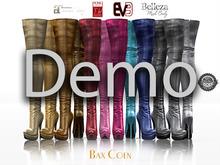BAX Regency Boots Metallic Demo