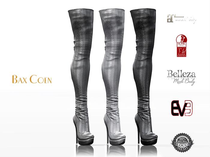 BAX Regency Boots Silver