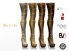 BAX Regency Boots Gold