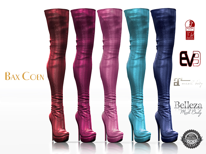 BAX Regency Boots Candy Metallic
