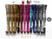 BAX Regency Boots Metallic Fat Pack