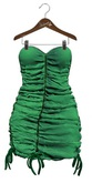AlaFolie - BRIGITTE vert velour ( wear to unpack)