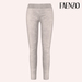 Faenzo Suede Leggings - White