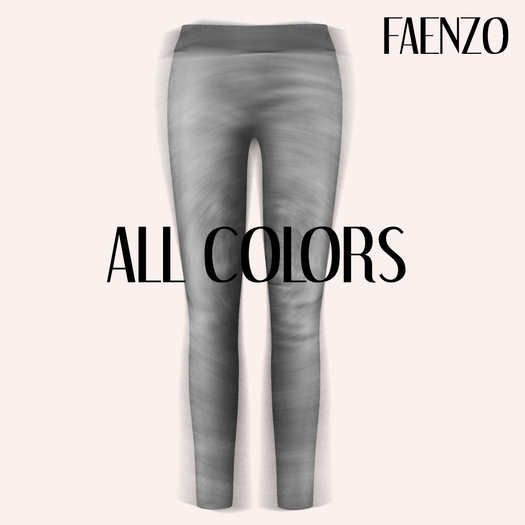 Faenzo Suede Leggings - All Colors