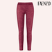 Faenzo Suede Leggings - Fuschia