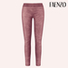 Faenzo Suede Leggings - Rose