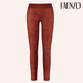 Faenzo Suede Leggings - Terracota