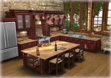 Vintage Dinner Party Kitchen MESH