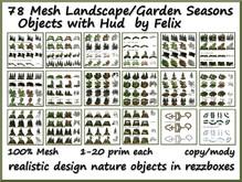 78 Mesh Landscape-Garden Seasons Objects With Hud copy-mody
