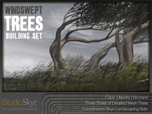 Skye Windswept Trees - Four Seasons Building Set - 100%Mesh