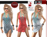 M&M-AURYN DRESS MESH AND FITTED-HUD