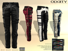 A&D Pants -Rod- Leather