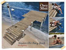 Old Wooden Navy Dock ♥ CHEZ MOI