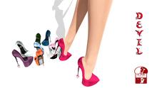 Devil Shoes Slink High