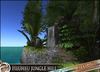 HeadHunter's Island - Heuheu jungle hill - 26m tall trees - 3 paths - waterfall - stream - MESH