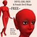 Devil Girl Skin & Shape