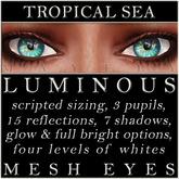Mayfly - Luminous - Mesh Eyes (Tropical Sea)