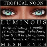 Mayfly - Luminous - Mesh Eyes (Tropical Noon)