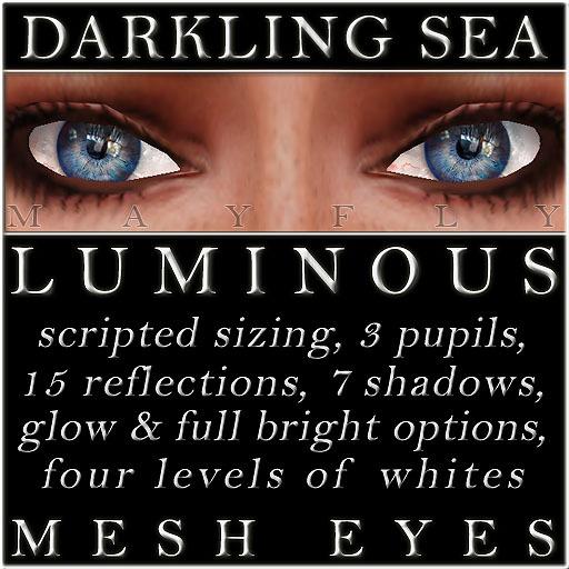 Mayfly - Luminous - Mesh Eyes (Darkling Sea)