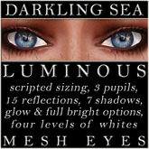 Mayfly - Luminous - Mesh Eyes (Crystal)