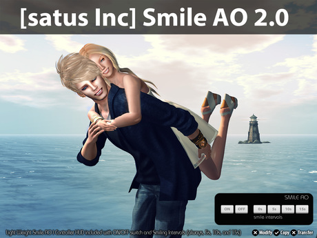 [satus Inc] Smile AO 2.0 (Unisex Version)