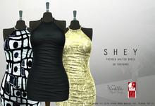 SHEY - Tribeca Halter Dress (10 Textures)