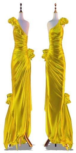 AlaFolie - DIVINE GLOSSY Jaune ( wear to unpack)
