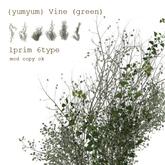 {yumyum} Vine F (green)