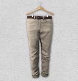 BlankLine Roll-up Pants (Beige)