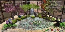 Aphrodite Zen Japanese Garden complete with dry garden as GIFT