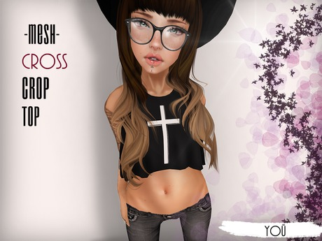 Yoü - {Cross} Crop Top