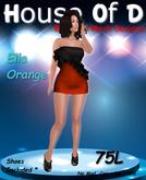 *HoD* Ella Black/Orange