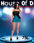 *HoD* Ella Black/Aqua