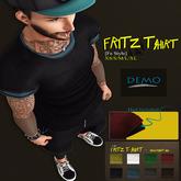 {Fe Style} DEMO Fritz T-Shirt / Black