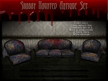 Boudoir Halloween -Shabby Haunted Antique Set