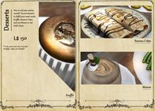 C L A Vv. French Cuisine Dessert